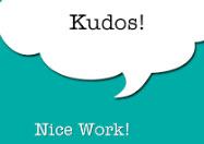 kudos-nice work